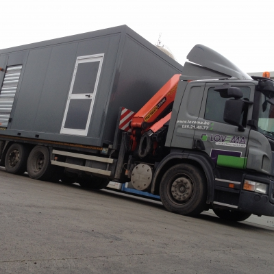 Container parking